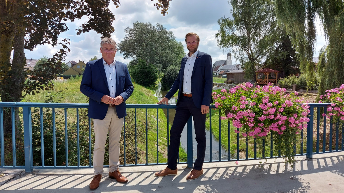 Winfried Mack und Christoph Konle in Dalkingen